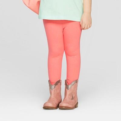 Toddler Girls' Leggings - Cat & Jack™ Peach