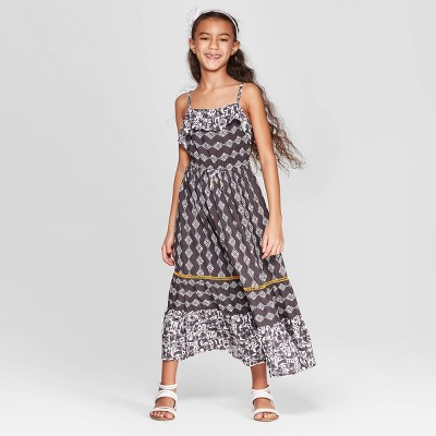 Girls' Maxi Dress - Cat & Jack™ Gray