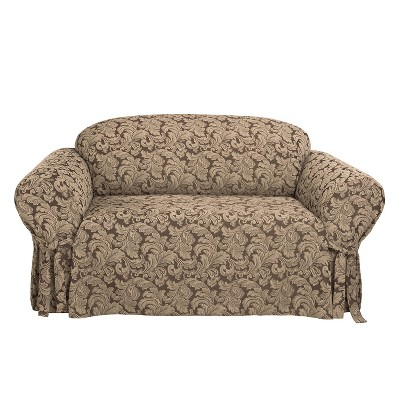 Scroll Sofa Slipcover - Sure Fit