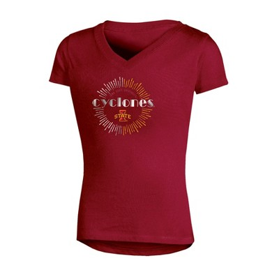 NCAA Girl's V-Neck T-Shirt Iowa State Cyclones