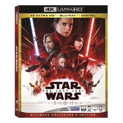 Star Wars: The Last Jedi (4K/UHD + Blu-ray + Digital)