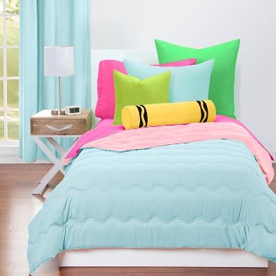 crayola sky blue comforter sets full queen