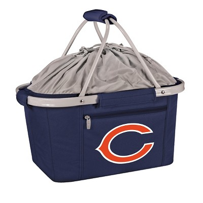 Picnic Time NFL Team Metro Basket Collapsible Tote - Navy