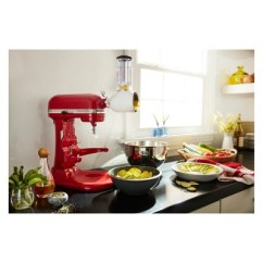 Kitchenaid Kitchen Rooster Decorations For Professional 5qt Mixer Red Kv25g0x Target