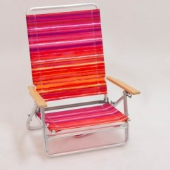 Portable Beach Chair Trampoline Chairs At Target Outdoor Red Orange Purple Stripe Evergreen
