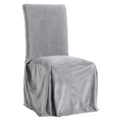 Dining Chair Covers Velvet Hanging Kent Microfiber Slipcover Target
