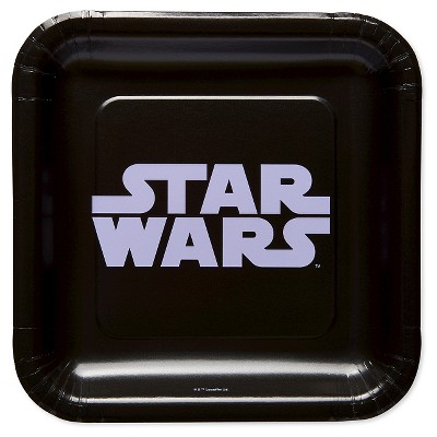 "Classic Star Wars 9"" Paper Plates - 8ct"