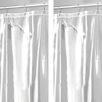 mdesign x long waterproof vinyl shower