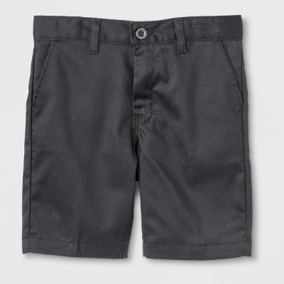 Dickies® Boys' Slim Fit Flat Front Shorts