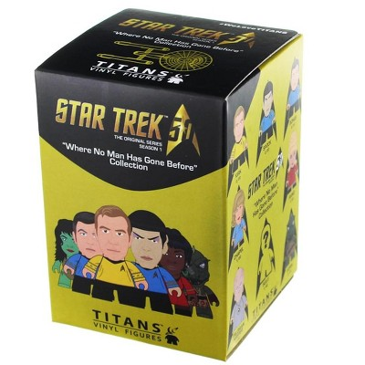 Titan Books Star Trek Titan TOS Blind Box Vinyl Figure, Single Random