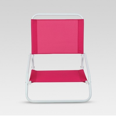 pink beach chair wooden accent chairs with arms outdoor portable red evergreen target