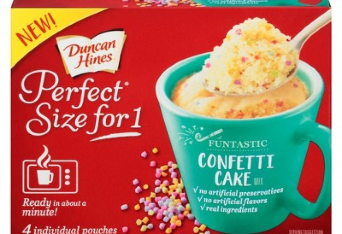 Duncan Hines Perfect Size For 1 Confetti Cake Mix 917oz4ct Target