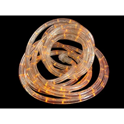 J. Hofert Co 18' Indoor/Outdoor LED Rope Lights - Sunrise Orange