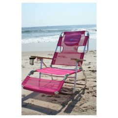 Pink Beach Chair How To Upholster A Dining Room Ostrich Face Down 3 In 1 Bright Deltess Target