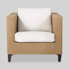 Patio Club Chair Antique Table And Chairs Fullerton Wicker Linen Project 62 Target