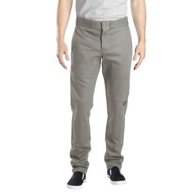 Dickies® Men's Skinny Straight Fit Flex Twill Double Knee Pants