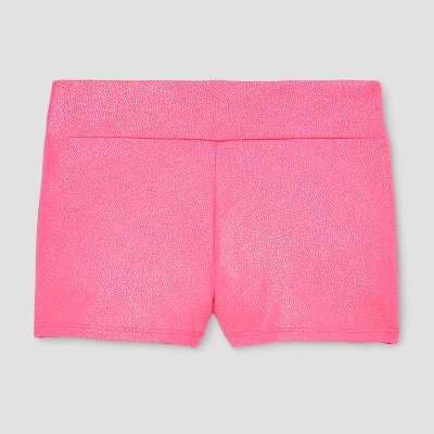 Freestyle by Danskin Girls' Gymnastics Bike Shorts - Pink