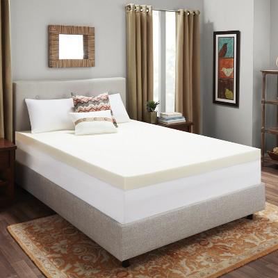 "4"" Memory Foam Mattress Topper - Authentic Comfort®"