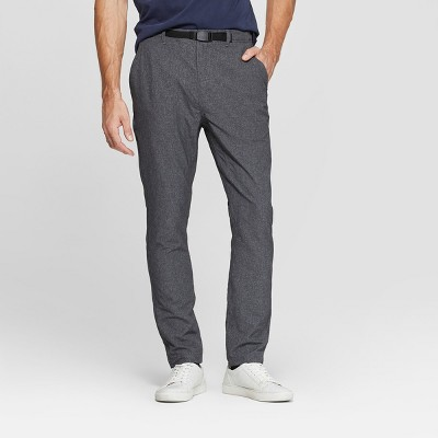 Men's Tapered Clip Belt Performance Pants - Goodfellow & Co™ Zodiac Night