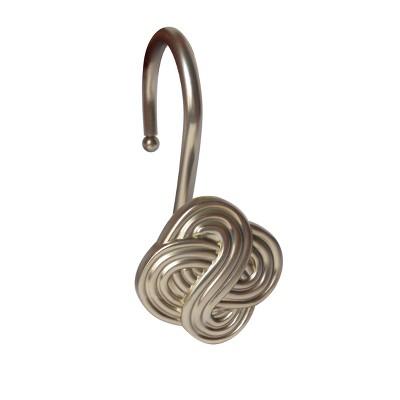 Gaelic Knot Shower Hooks - Elegant Home Fashions
