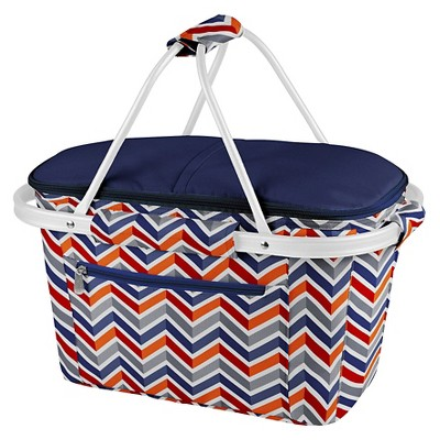Picnic Time Market Basket Collapsible Tote - Vibe Collection