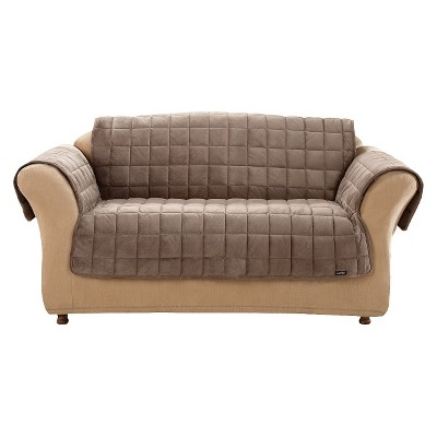 Deluxe Comfort Quilted Furniture Friend Loveseat Cover - Sure Fit