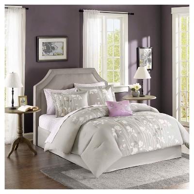 Holly Floral Comforter Set
