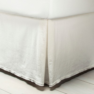 Bedskirt Linen Blend - Sour Cream - Hearth & Hand™ with Magnolia