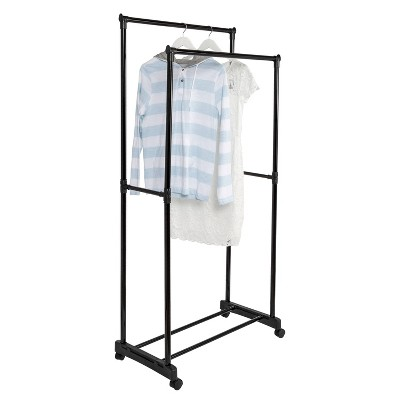 rolling garment rack target