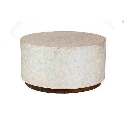 rowden capiz coffee table off white east at main