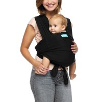 Moby Adjustable Fit Wrap Baby Carrier - Black : Target