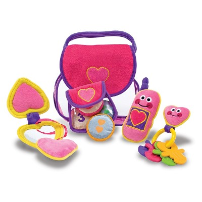 Melissa & Doug® Pretty Purse Fill and Spill Soft Play Set Toddler Toy