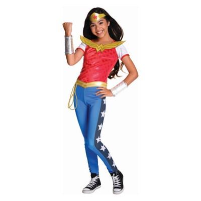 Girls' DC Super Hero Girls Wonder Woman Halloween Costume