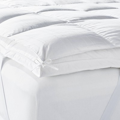 twin feather down mattress topper casaluna