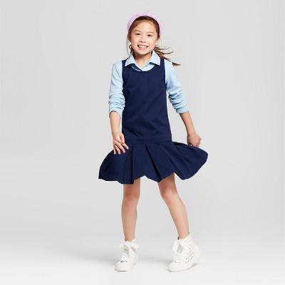 Girls' Uniform Woven Jumper - Cat & Jack™