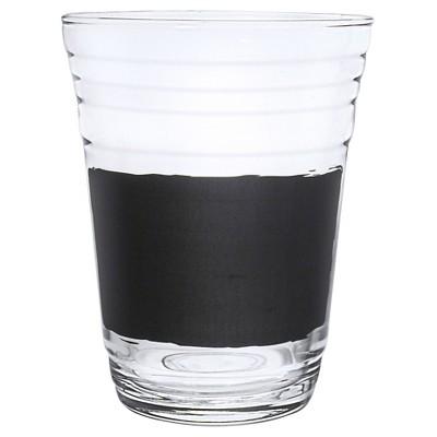 "Luminarc 16oz ""Write On It"" Party Cups w/Chalk - Set of 6"