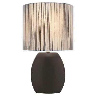 Lite Source Reiko 1 Light Table Lamp (Lamp Only) - Black