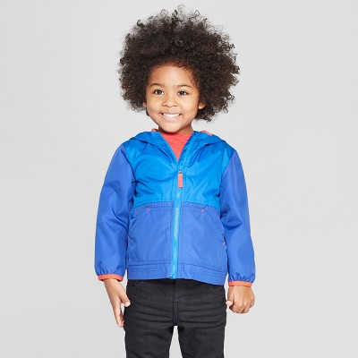 Toddler Boys' Colorblock Windbreaker - Cat & Jack™ Blue
