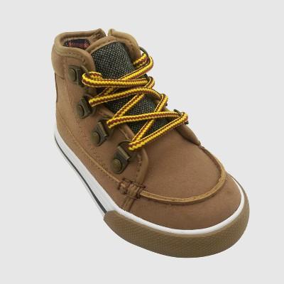 Toddler Boys' Bradshaw Mid Top Sneakers - Cat & Jack™ Tan