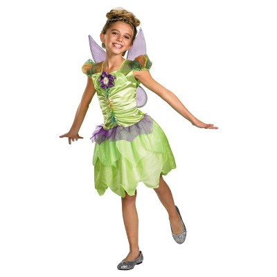 Girls' Tinker Bell Rainbow Costume 3t-4t