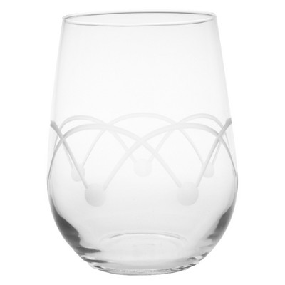 17oz 4pk Disco Stemless Wine Glasses - Rolf Glass