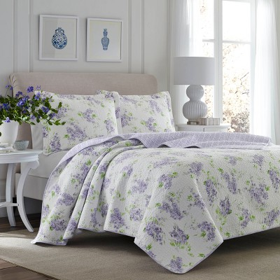 Purple Keighley Quilt Set - Laura Ashley