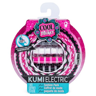 Cool Maker KumiElectric Mini Fashion Pack (Black/Pink/White)
