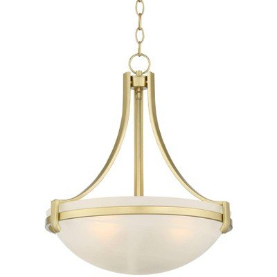 regency hill soft gold small pendant lighting 20 wide modern frosted glass bowl dining room house bedroom kitchen island hallway