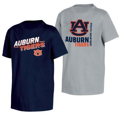 Auburn Tigers Double Trouble Toddler Short Sleeve 2pk T-Shirts