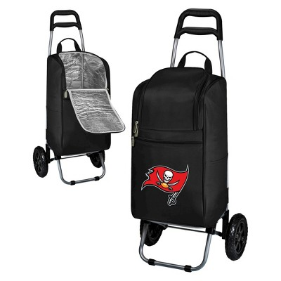 Tampa Bay Buccaneers Cart Cooler by Picnic Time - Black