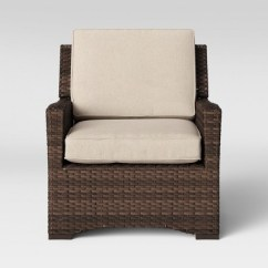 All Weather Wicker Outdoor Chairs Dxracer King Gaming Chair Review Halsted Patio Club Tan Threshold