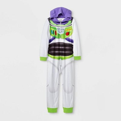 Boys' Toy Story Buzz Lightyear Union Suit - White