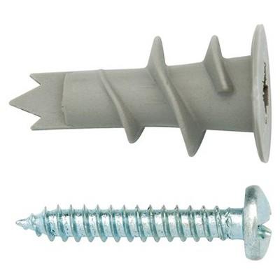 Arrow 10pk Self Drilling Anchor Kit with Screws