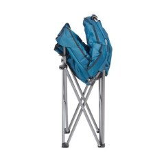 Padded Camping Chair Louis Xvi Mac Sports Folding Outdoor Club With Carry Bag Blue Black Target